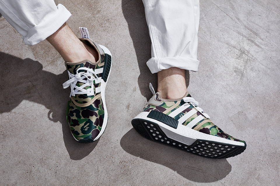 The Ape with the Three Stripes: Adidas x Bape