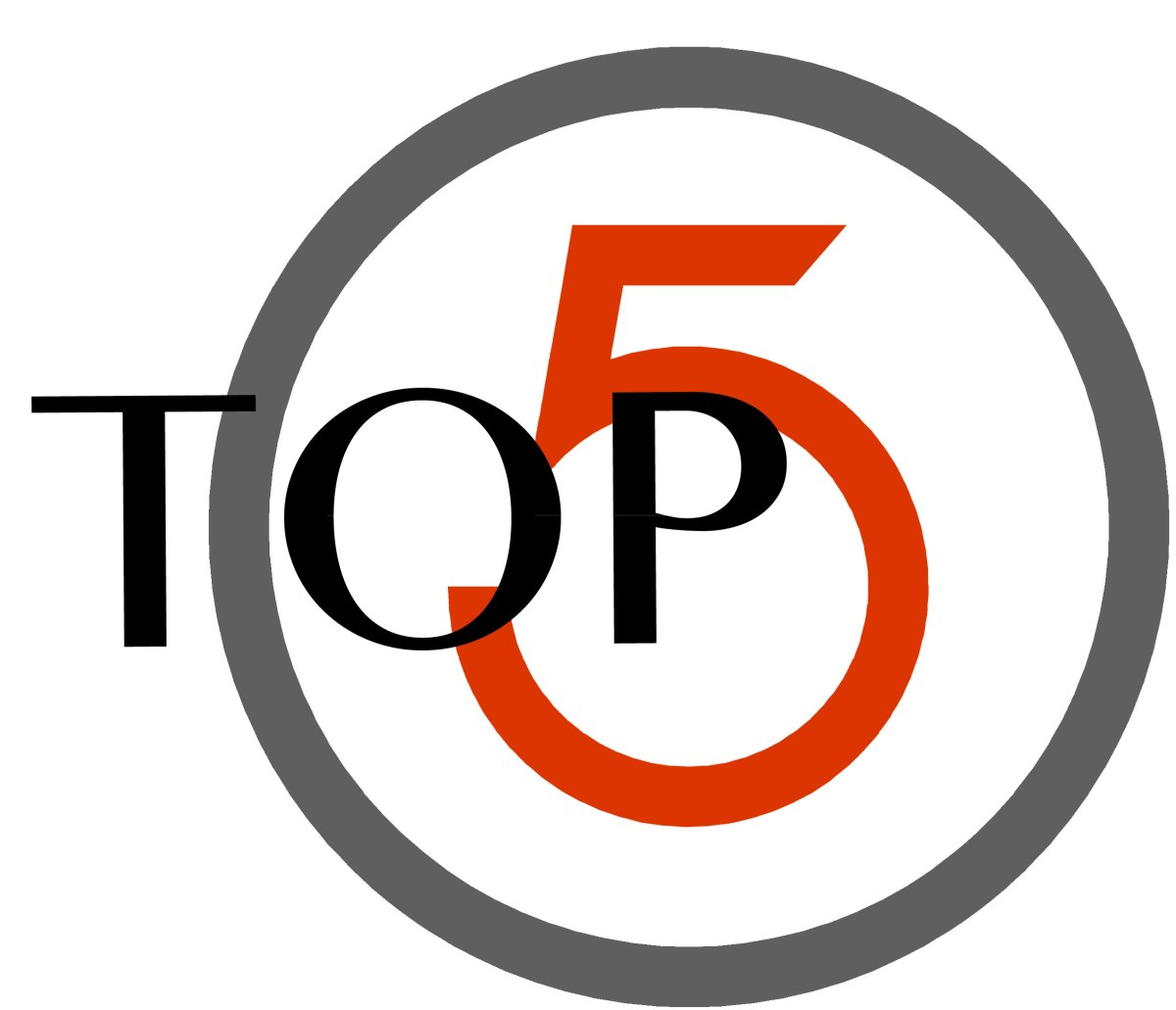 Top 5 – Abril 1, 2018